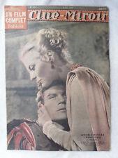 CINE MIROIR N° 945 du 6 juin 1949 MICHELE MORGAN HENRI VIDAL VIVIANE ROMANCE