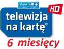 6m. TNK  NC+ SMART HD +  doladowanie Aufladung Prepaid TVN Telewizja Na Karte TV