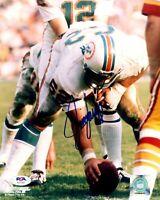 Jim Langer autographed signed 8x10 photo NFL Miami Dolphins PSA COA