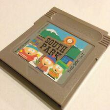 South Park Nintendo Gameboy Videogame