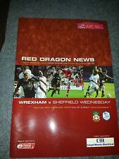 Wrexham v Sheffield Wednesday, 2004-05