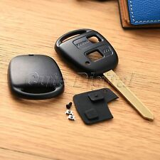 2 Button Car Lock Remote Key Fob Shell Case Rubber Pad for Toyota Avensis Toy 47