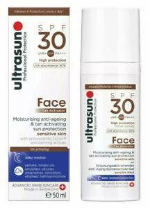 Ultrasun Tan Activator for Face SPF 30 50ml