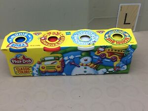 Vintage Play-doh 4 Pack Modeling Clay - Unopened