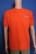 Vintage '80s Virginia Tech Wrestling orange trashed t shirt M