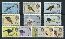 British Honduras 1962 Birds set SG202/13 MNH
