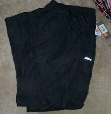 NEW ASICS Waterproof Pants Big & Tall BT 4XL XXXXL Black NEW NWT