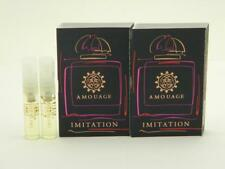 2 X Amouage IMITATION WOMAN EDP Vial Natural Spray 2ml New With Card
