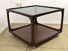 60er 70er Jahre Tisch Coffee Table Couchtisch Glasplatte Wilhelm Renz 60s 70s