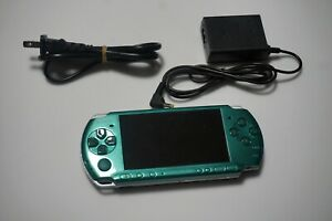 PSP-3000 console Green Black Customize PlayStation Portable system Please Read