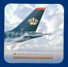 ROYAL JORDANIAN AIRLINES FLAG CARRIER OF JORDAN CROWN LOGO TAIL STICKER