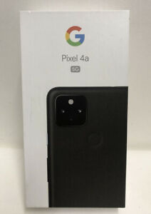 Google Pixel 4a 5G G025E - 128GB - Just Black (Unlocked) (Single SIM)