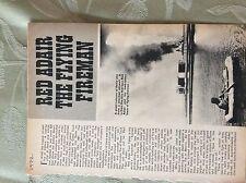 a3c ephemera article 1972 red adair the flying fireman