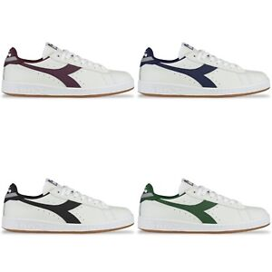 Diadora Baskets - Diadora Game L Low Blanc, Noir, Rouge, Vert, Bleu
