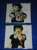 LOT 2 CD BOBO 1995 in white wooden houses YELLOW MOON travel in my mind