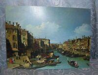 Stunning The Grand Canal Near the Rialto Bridge, Venice Reproduction Print