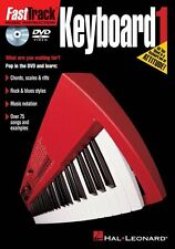 Fast Track Keyboard Learn to Play Piano Easy Lesson Beginner Tutor Music DVD 1
