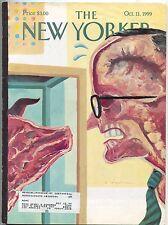 New Yorker Magazine Oct October 11 1999 Spiegelman Steve Martin Sister Souljah