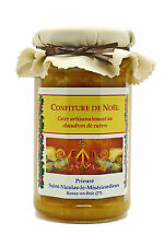 Confiture extra de Noël (abricot, orange, fruits secs) 270g Prieuré St-Nicolas