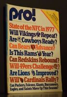Pro! The Official Magazine Of The National Football League August 13 1977