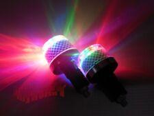 Motorcycle Handle Bar Hand Grips Bar End Marker Plug LED Light Lamps For Yamaha