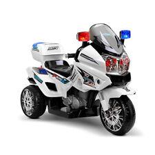 Rigo Kids Ride On Motorbike - White