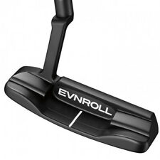 Evnroll Putters ER 1.2 Tour Blade Black Golf Putter with Gravity Grip
