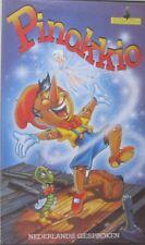 PINOKKIO  -  VHS - GOLDEN FILMS