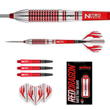 26 GRAM RED DRAGON REFLEX 90% TUNGSTEN STEEL TIP DARTS..NEW RELEASE