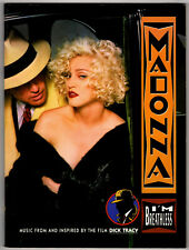 Madonna I'm Breathless 1990 songbook Dick Tracy movie/film Piano/Vocal/Chords ly