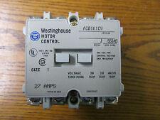 NEW NOS Westinghouse A201K1CV Non Reversing Contactor Size 1 27A Motor Control
