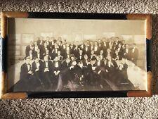 Exceptional Signed 1924 Salmagundi Club Photo Frank Tenney Johnson Reception