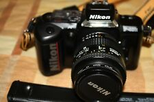 Fotocamera Nikon reflex analogica F401 S +Flash Nikon SB-22