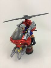 "Pat Pending Equipment Helicopter Fisher Price Rescue Heroes 6"" Action Figure A22"