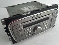 REFURBISHED FORD 6000 GALAXY SMAX FOCUS MONDEO AUX CD RADIO UNIT + CODE WARRANTY