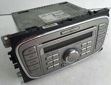 FORD 6000 GALAXY SMAX FOCUS MONDEO AUX CD RADIO UNIT +CODE 2007 to 2011 WARRANTY