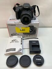 CANON EOS REBEL T7 DS126741 24.1MP Digital SLR Camera w/ 18-55mm Lens & Charger