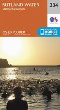Rutland Water Explorer Map 234 - New - OS - Ordnance Survey
