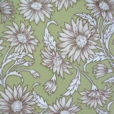 Antiguo Daisy-Verde - 100% Algodón Tela Floral Se Vende Por Metro Patchwork