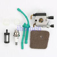 Carburetor Primer bulb Fuel line For HL45 KM55R FS45C FS45L FS55C FS55T Trimmers