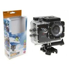 Action Camera Waterproof Sports Cam 12mp HD 720p Helmet Motor Bike Dash Video