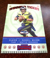 """2020 Contenders RUSSELL WILSON """"RED PARALLEL"""" Winning Ticket SP Seahawks """"RARE"""""""