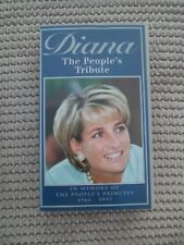 Princess Diana, Princess Of Wales - The People's Tribute (VHS)