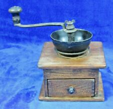 Antique Wooden Coffee Grinder/Mill