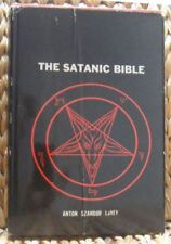 The Satanic Bible by Anton LaVey - 1969 First Edition HB rare occult