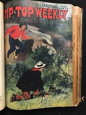 TIP TOP WEEKLY BOUND Issues 587-605 1907 Gilbert Patten  Frank & Dick MERRIWELL