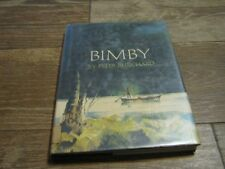 1968 BIMBY hardcover book by Peter Burchard hunting decor