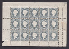 Gambia. Block. SG 29, 3d grey. Mounted mint.