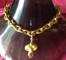 Linda Levinson Chain Necklace With Pendant