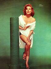 Gale Robbins 1953 Vintage Pinup Litho Portrait By Six Photo Publicity Promo COA